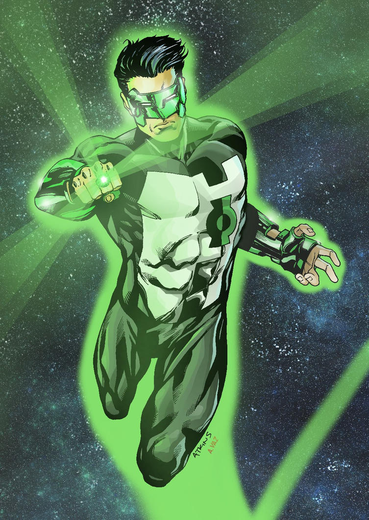 Green Lantern by Ratkins - Colors by Andre-VAZ
