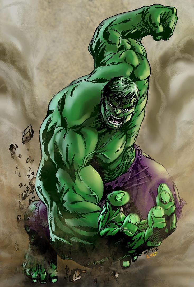 incredible hulk art gallery -#main