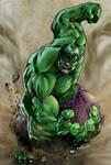 Incredible Hulk - Art by Robert Atkins