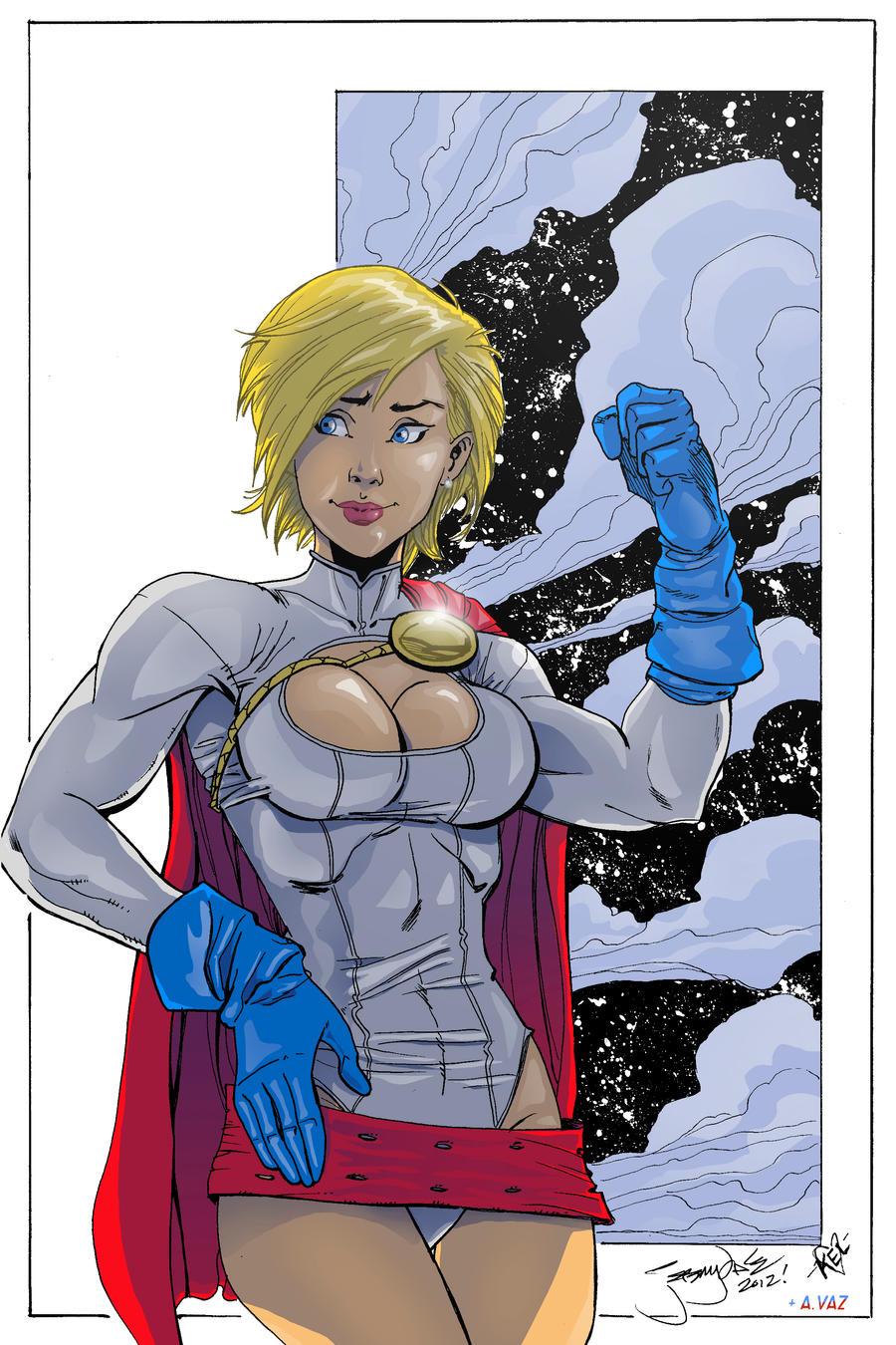 Power Girl By Andre Vaz On Deviantart