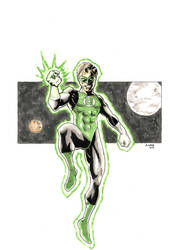 Green Lantern  by Andre-VAZ