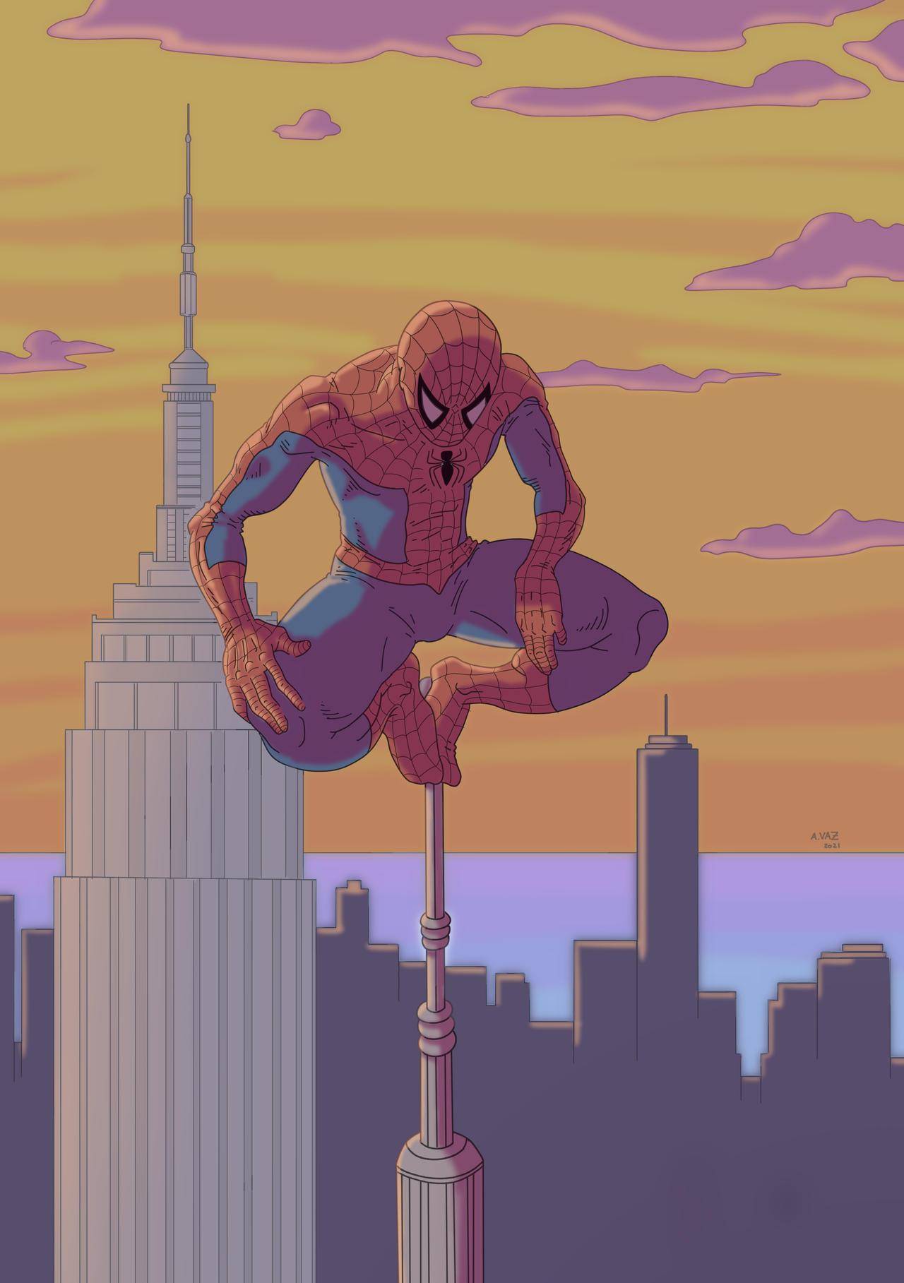 Spider-Man Empire State Building