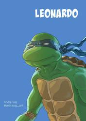 Leonardo from TMNT