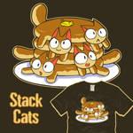 Pancats - Stack Cats - woot