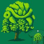 Topiary Turtle Tree