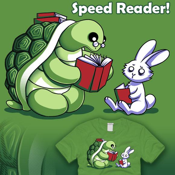 Speed Reader by amegoddess