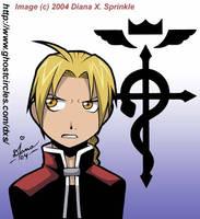 Full Metal Alchemist, Edward by amegoddess