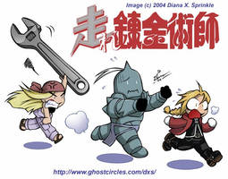 SD FMA, Whinry and her wrench