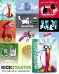 Mystery Pets Art Book Kickstarter