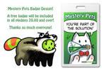 Free Badge design for Kickstarter