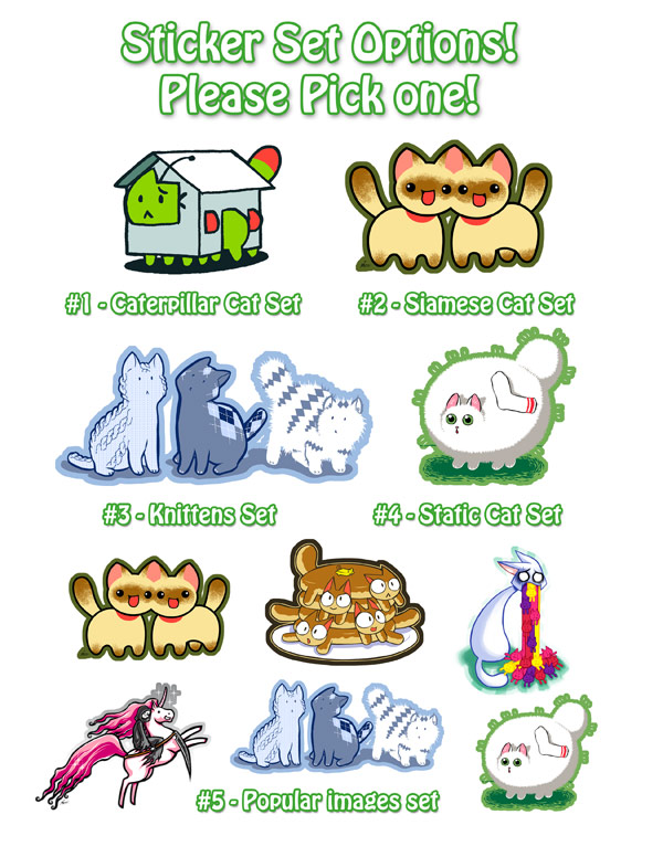 Help me pick a Sticker Set