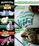 Final 5 hours on Kickstarter - sticker sheet