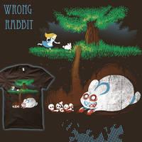 Wrong Rabbit by amegoddess