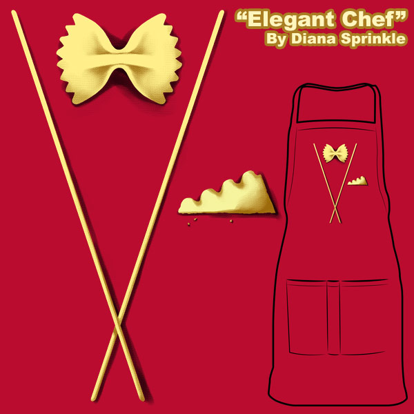 Elegant Chef - NOW ON SALE by amegoddess