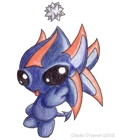 Dark Chao by chaoticdreamer