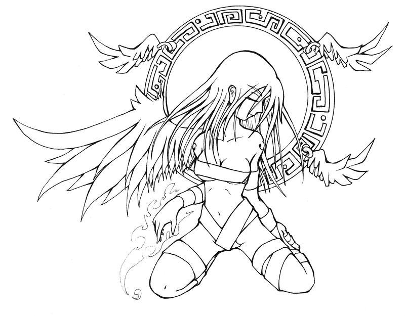 Random Angel Girl By YairLugo