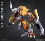 Wargreymon X by SinKunArts