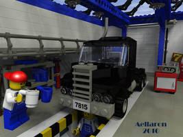 LEGO coffee break by aellaron
