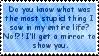 Stupid stamp by dazeredo