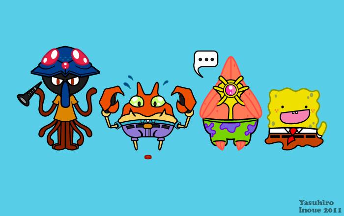 Sponge Blob Ditto Pants by yoshi632
