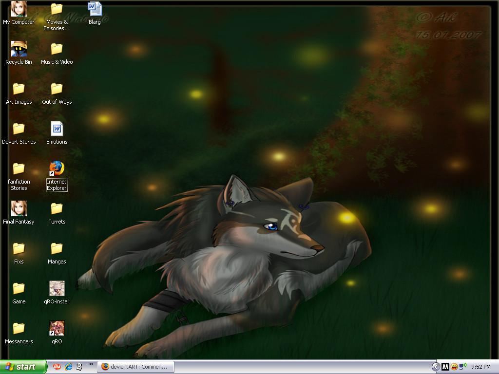 My Desktop by KosmicDragon