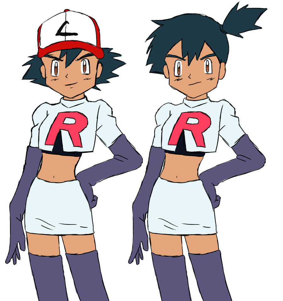 Pokemon Ash Joins Team Rocket Images