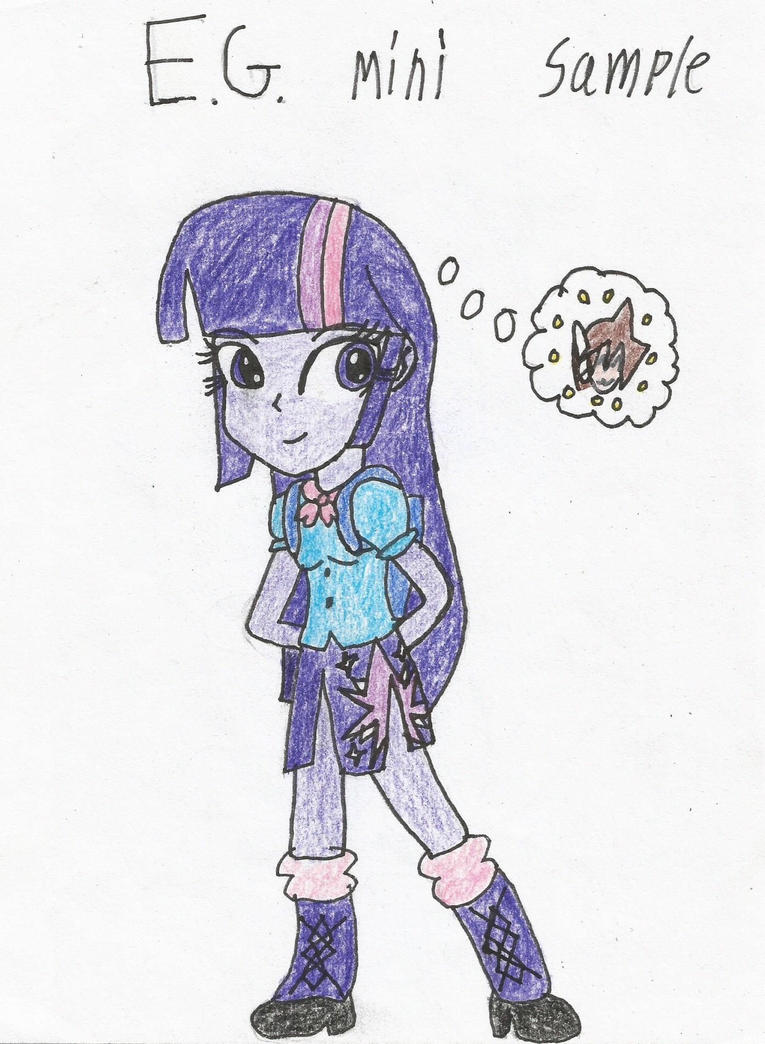 How to draw human twilight sparkle by shawnventura