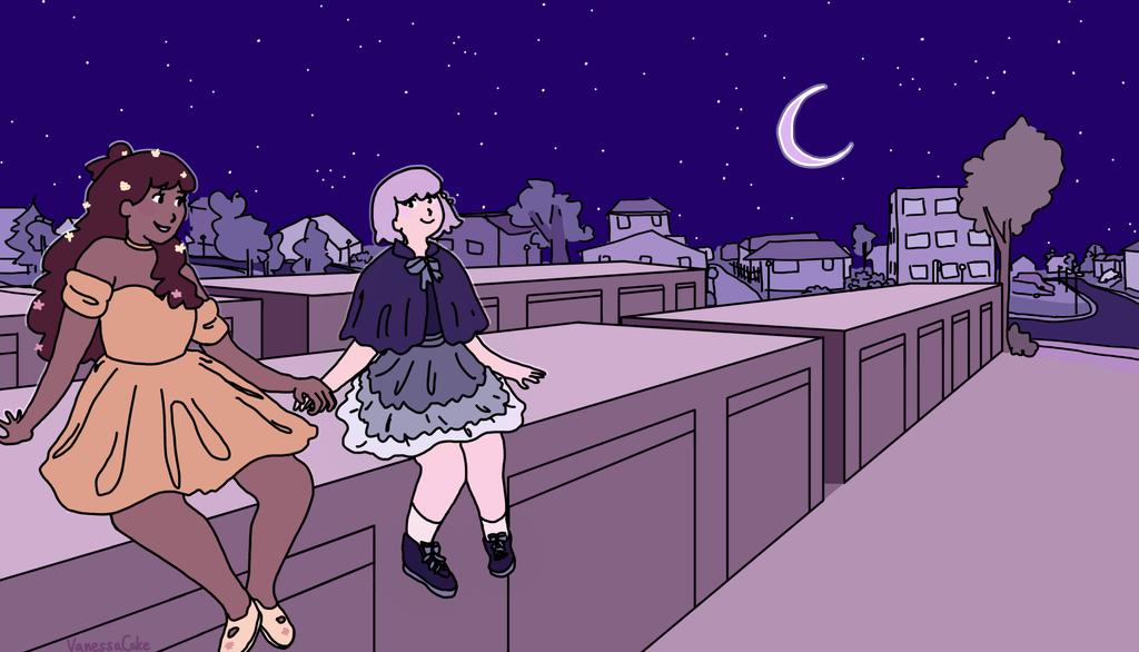 Summer and Luna by VanessaCake