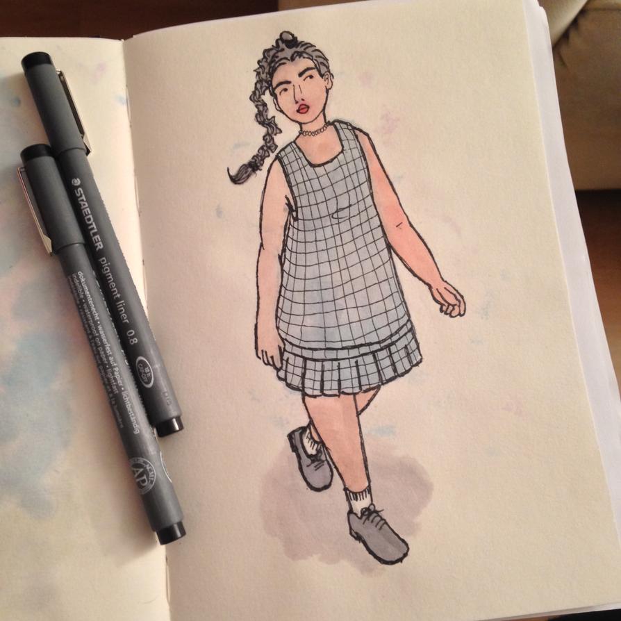 Gingham dress by VanessaCake