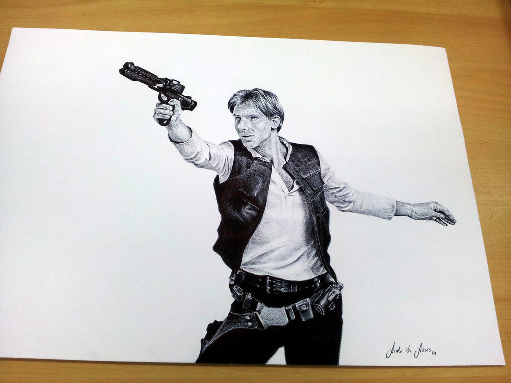 Ballpoint HAN SOLO by andre-assis
