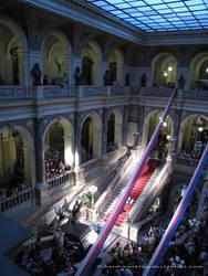 Night in museum by czech-republic