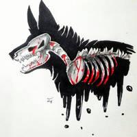 spooky dog by freezingbreeze42