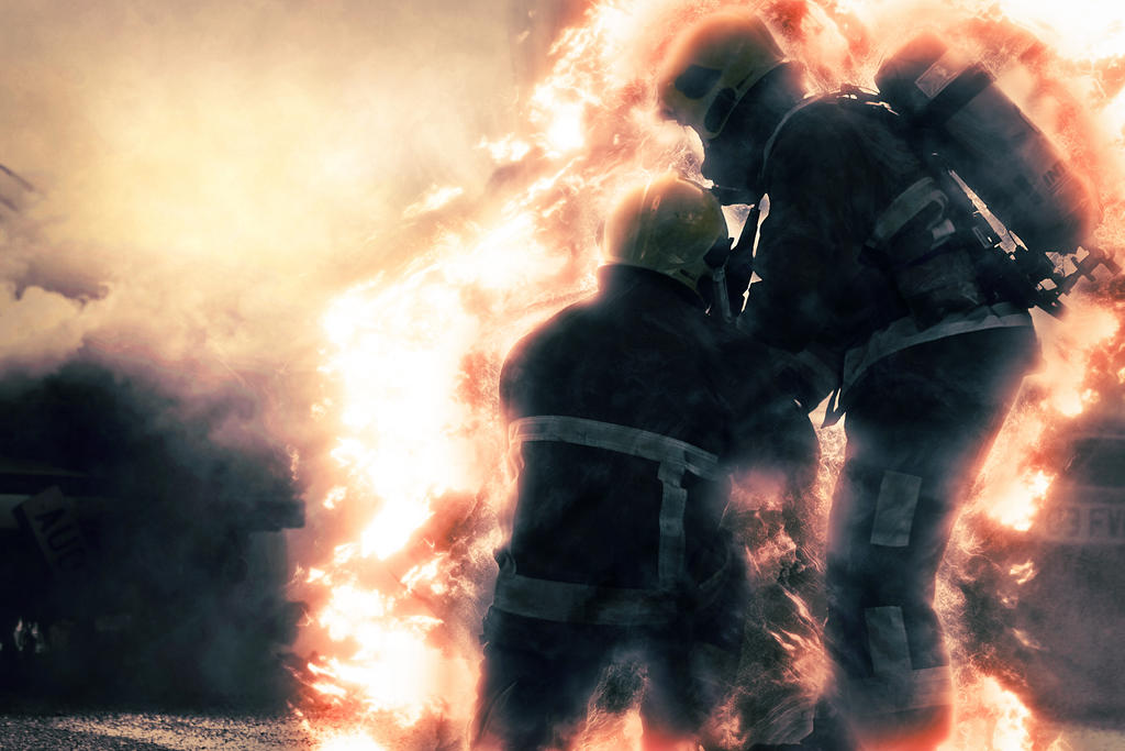 Into the fire by PaulCastleton
