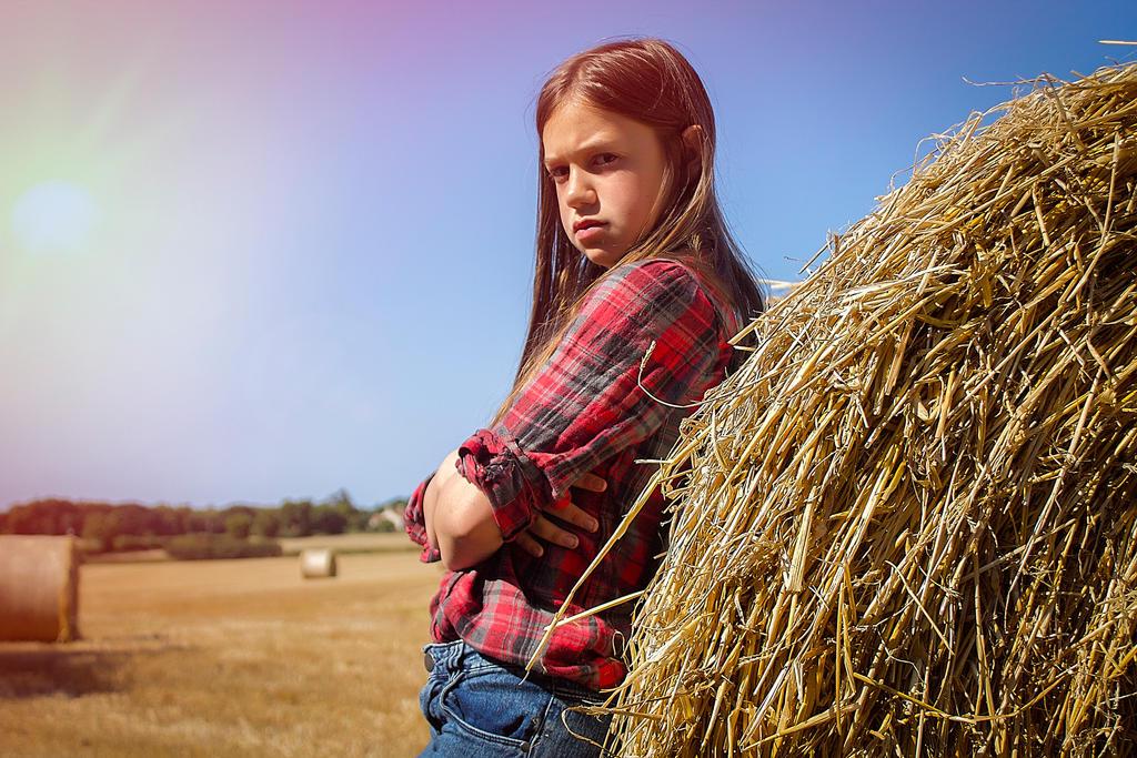 Farmers daughter by PaulCastleton