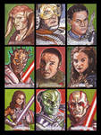 Star Wars Galactic Files Sketch Cards from Topps 3