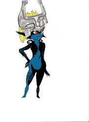 Colored Midna by lordoftuft