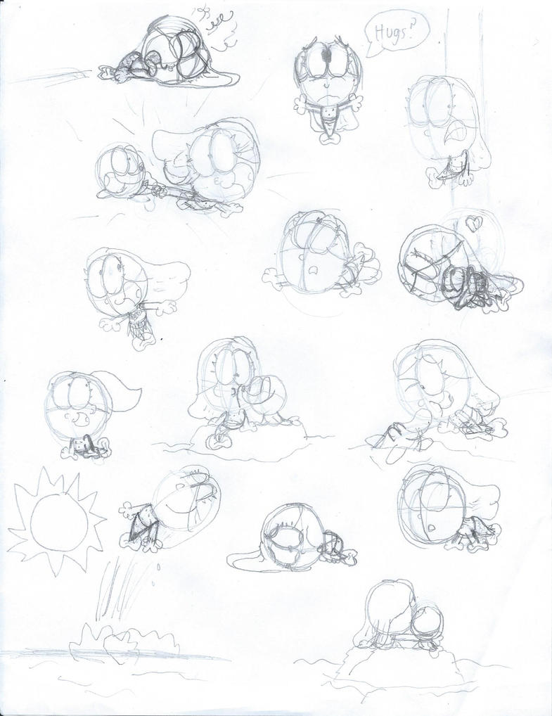 Down Under Sketch Dump 2 by MaxWhittemore