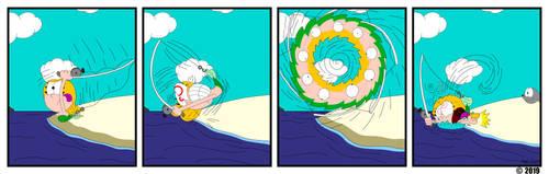 Down Under: Strip 17 by MaxWhittemore