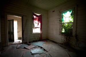 Inside haunted house by petronellavanree