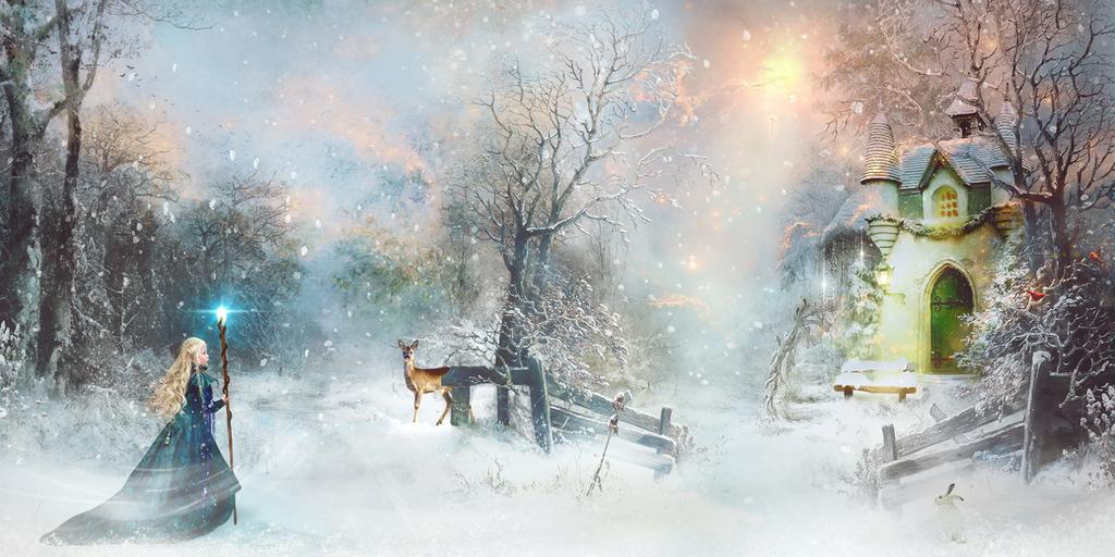 Winter Efteling by petronellavanree