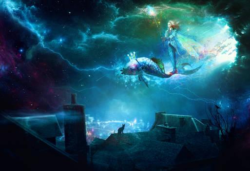 Space travel Fantasy