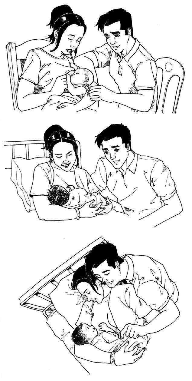 Breast-Feeding by INGGO