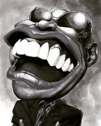 Ray Charles by INGGO