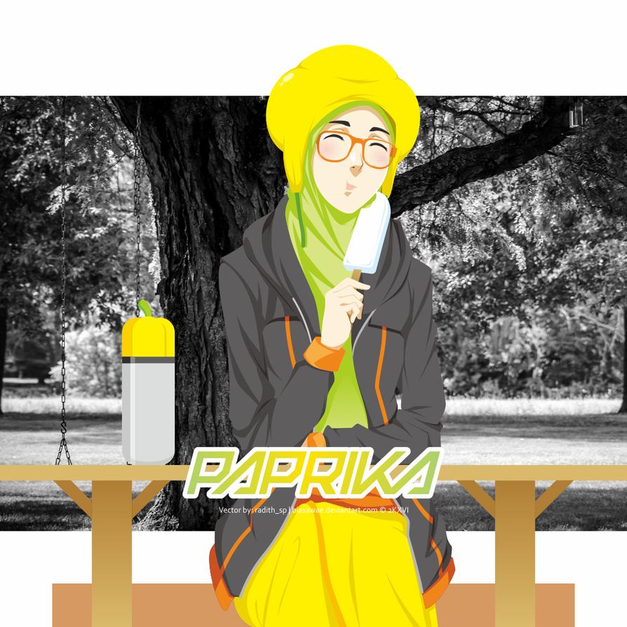 Happy-Go-Round Paprika by biasawae