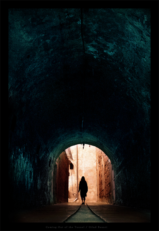 Coming Out of the Tunnel by gilad