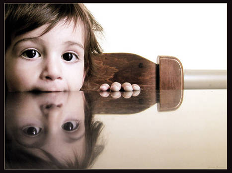A reflection of innocence