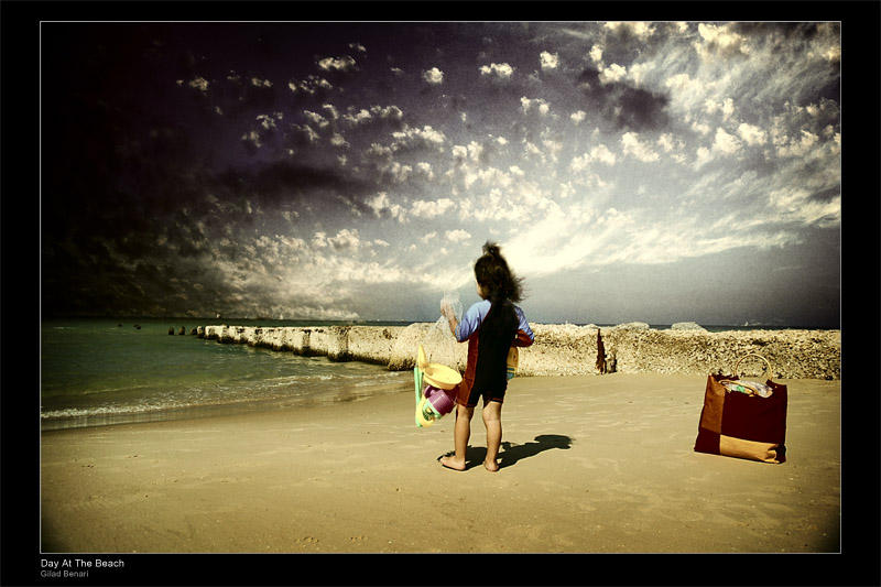 Day At The Beach by gilad