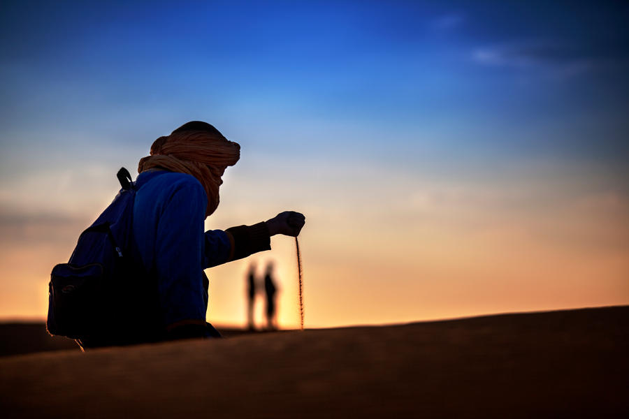 The sands of time by gilad