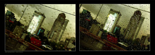 Rain Prespective by gilad