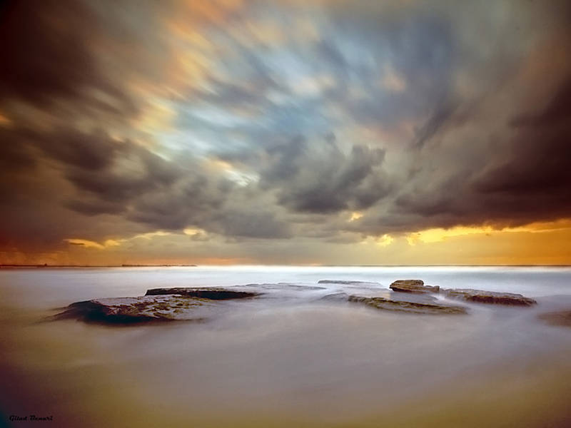 From the steamy seas by gilad